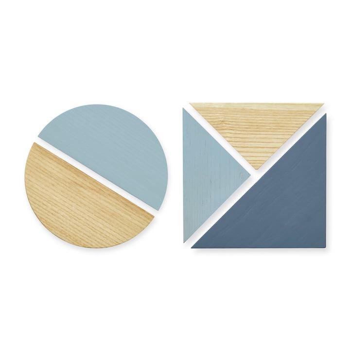 Die Magnete für Pinnwand von Nofred, blau