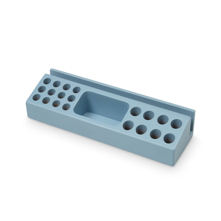 Der Stiftehalter von Nofred, blau