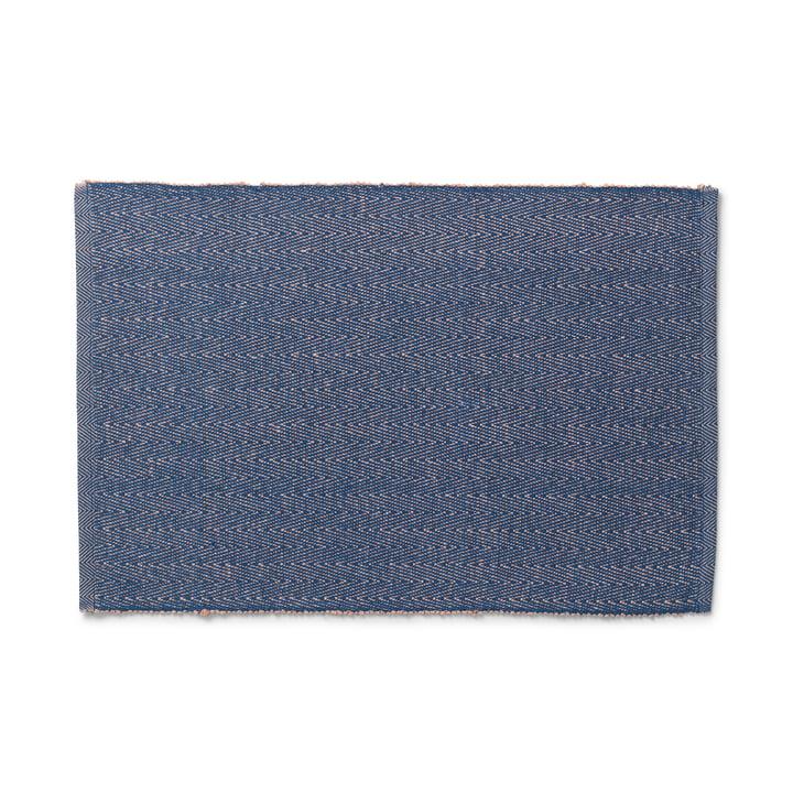 Das Herringbone Tischset von Lyngby Porcelæn, 43 x 30 cm, blau