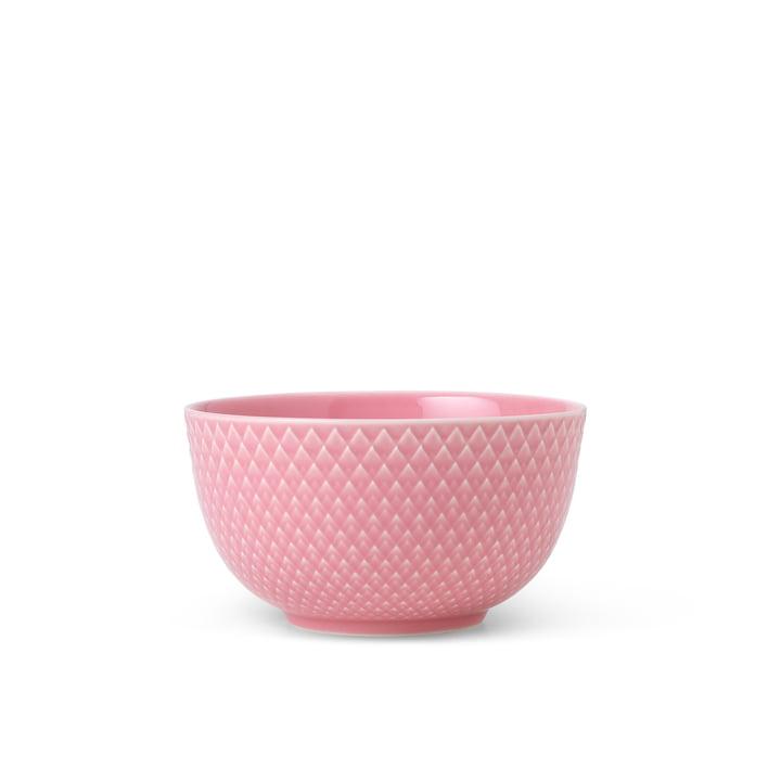 Die Rhombe Schale von Lyngby Porcelæn, Ø 11 cm, rosa