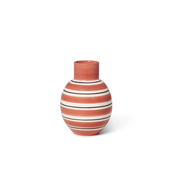Die Omaggio Vase von Kähler Design, H 14,5 cm, terracotta