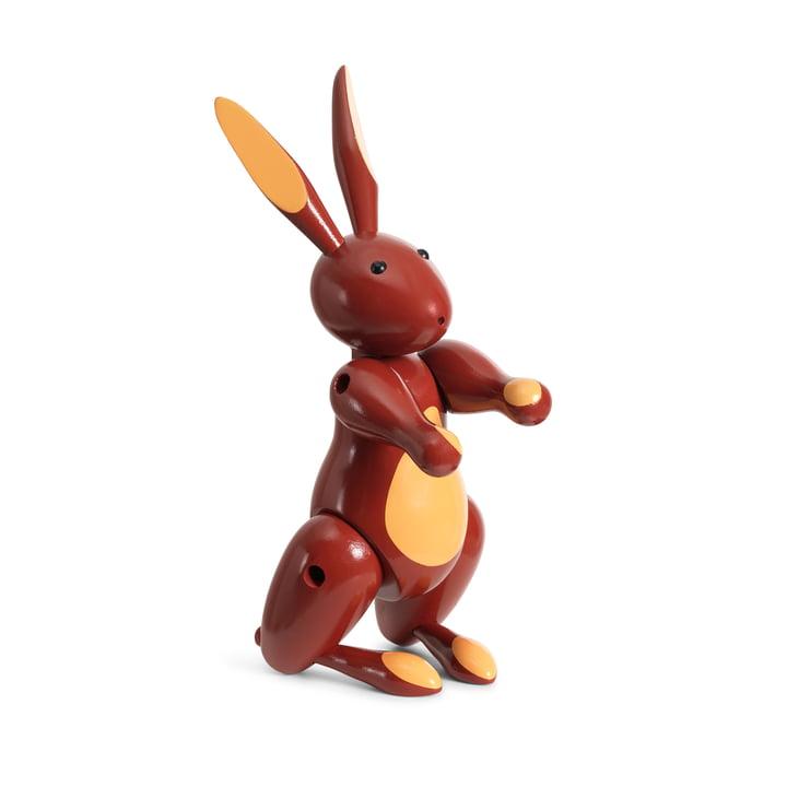 Das Holz-Kaninchen von Kay Bojesen, rot