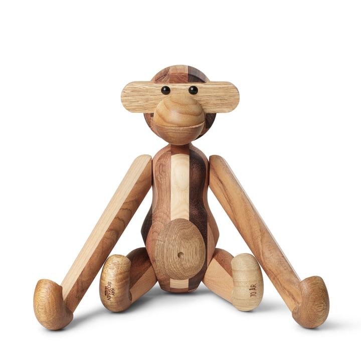 Der Holz-Affe medium von Kay Bojesen, verschiedene Holzarten (Jubiläumsedition)