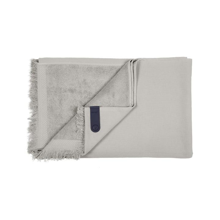 Das Fouta Handtuch von Fermob, 100 x 200 cm, kieselgrau