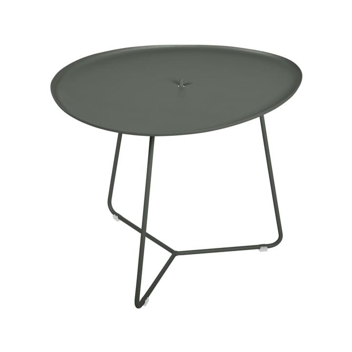 Der Cocotte niedriger Tisch von Fermob, H 43,5 cm, rosmarin