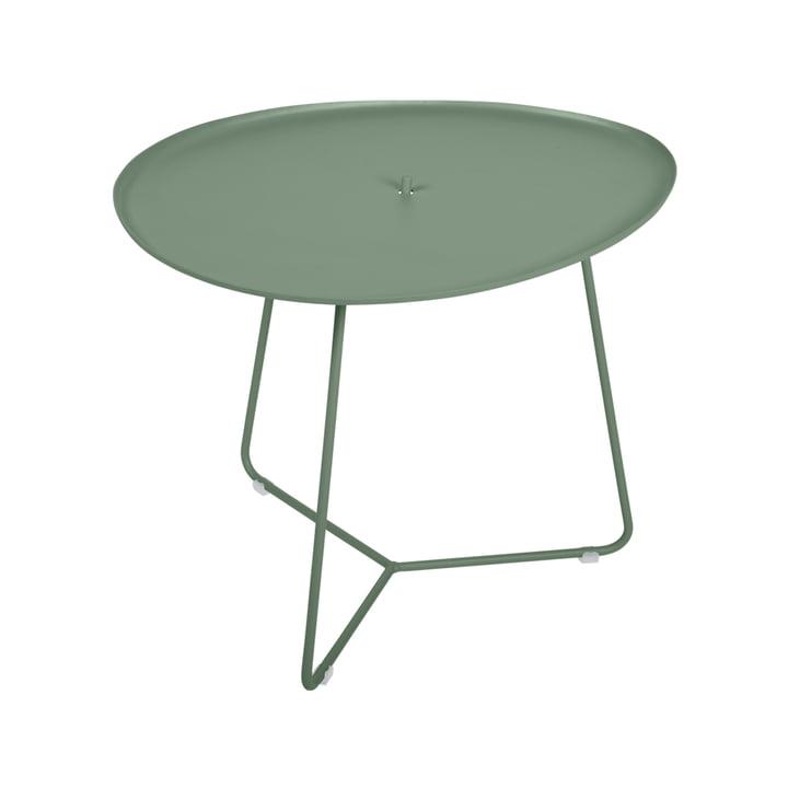 Der Cocotte niedriger Tisch von Fermob, H 43,5 cm, kaktus