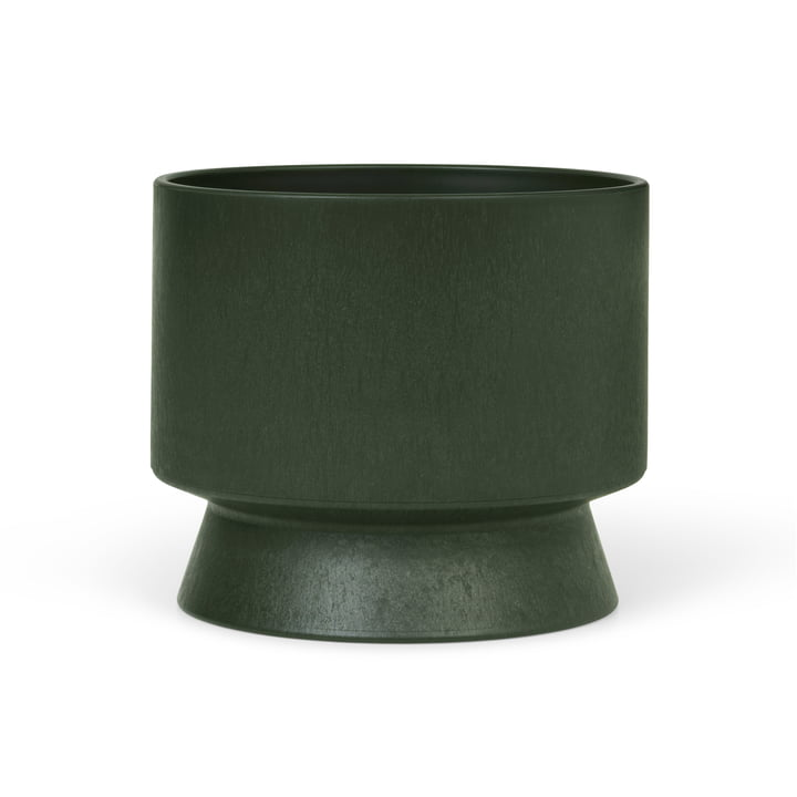 Der Übertopf Recycelt von Rosendahl, Ø 15 cm, dunkelgrün