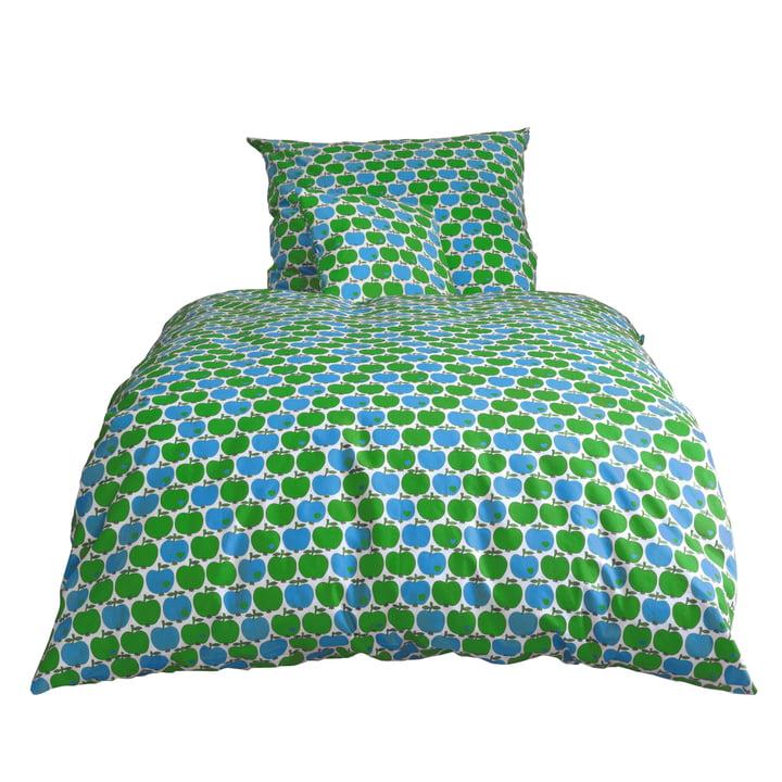 byGraziela - Apfel Bettwäsche, blau / grün