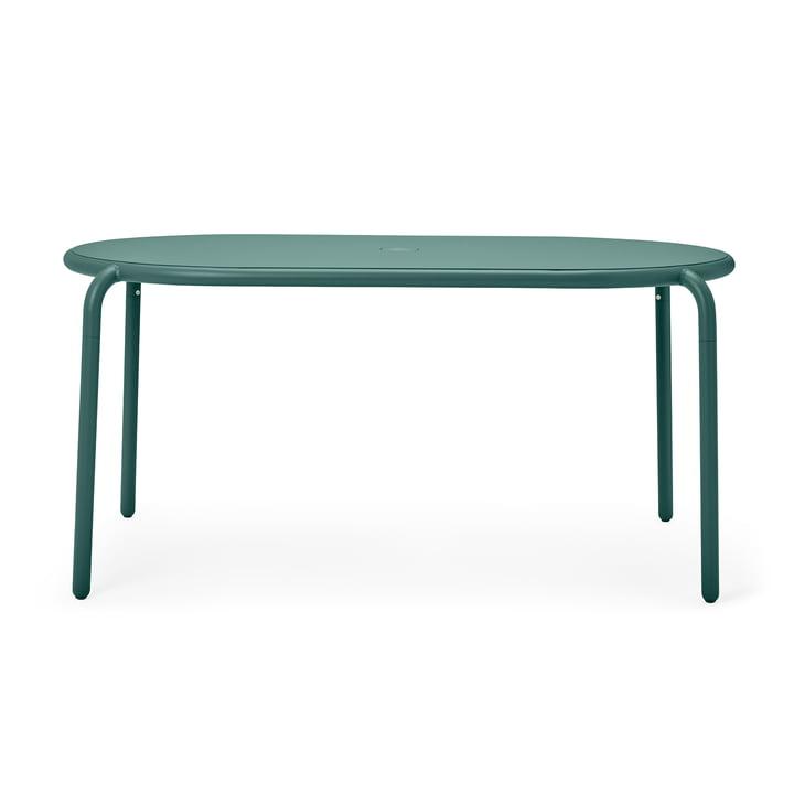 Der Toní Gartentisch von Fatboy, pine green