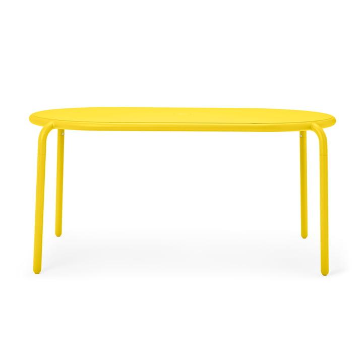 Der Toní Gartentisch von Fatboy, lemon