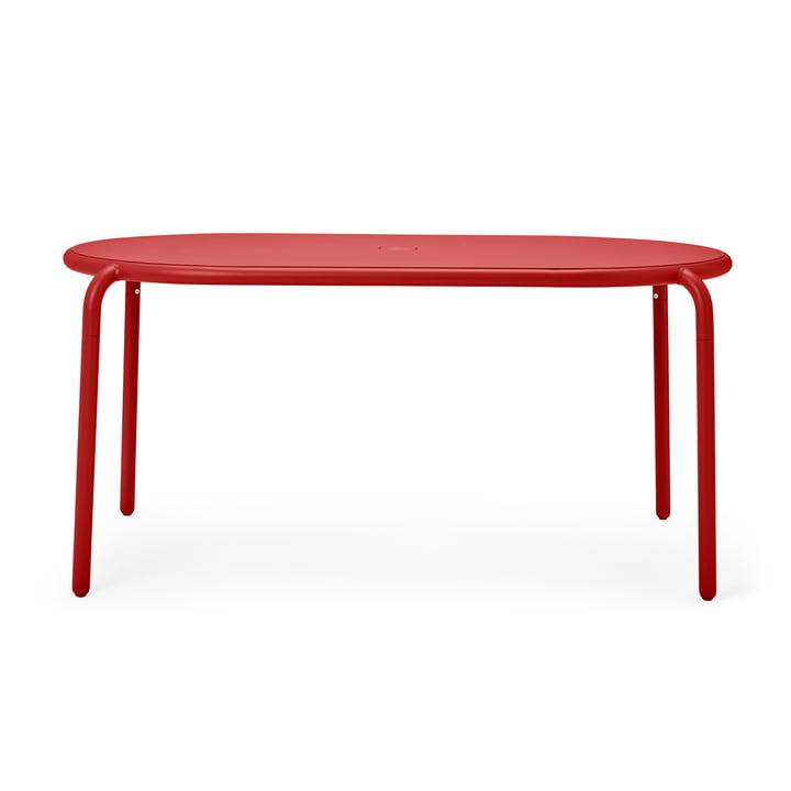 Der Toní Gartentisch von Fatboy, industrial red