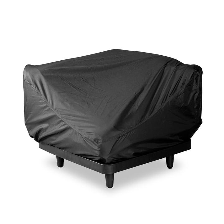 Die Schutzhülle für Paletti Sofa (1-Sitzer) von Fatboy, schwarz (1-Sitzer)