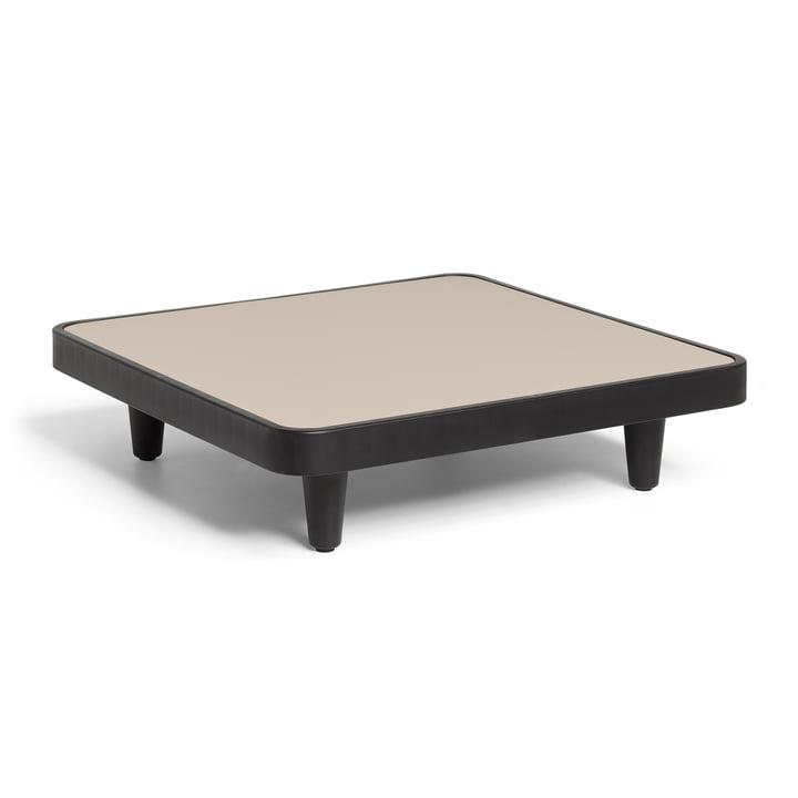Fatboy - Paletti Outdoor-Tisch H 22,5 cm, 90 x 90 cm, light taupe