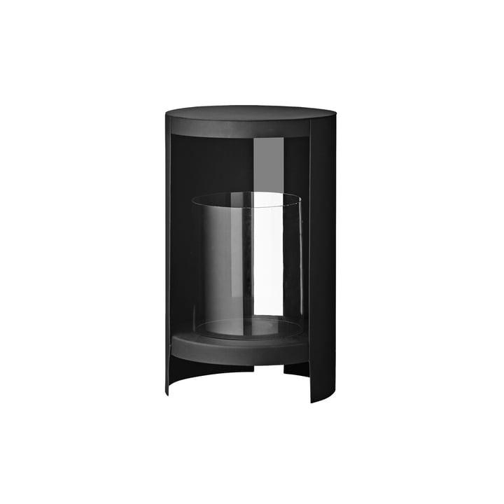 Das Ora Windlicht von AYTM, Ø 26,4 x H 43,4 cm, schwarz