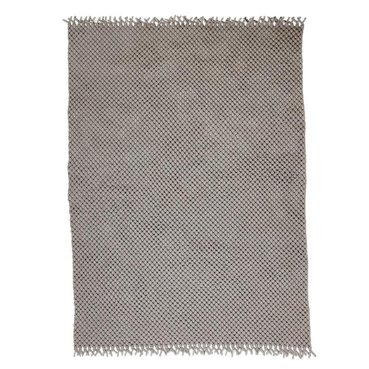 Der Clover Teppich von Cane-line, 240 x 170 cm, sand