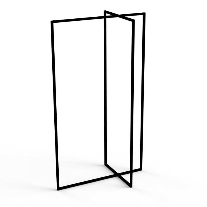 Roomsafari - Modular Frames Standgarderobe, schwarz