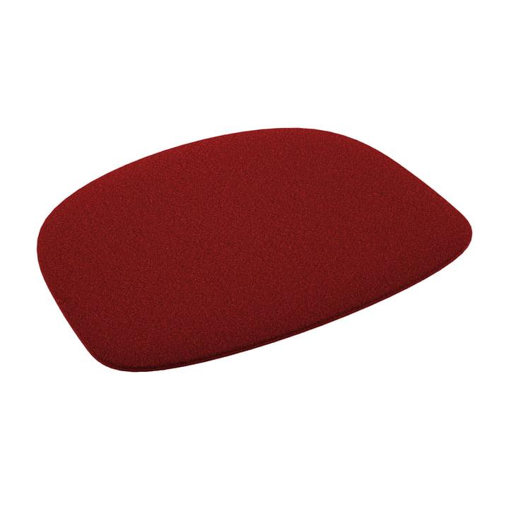 Fast - Filz-Sitzkissen für Stuhl Forest, rot