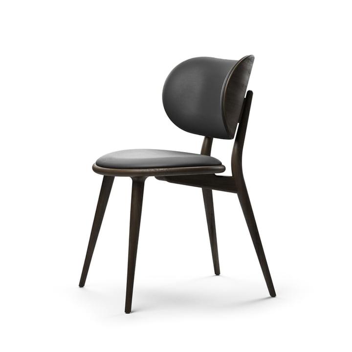 The Dining Chair, Buche schwarz / schwarz von Mater