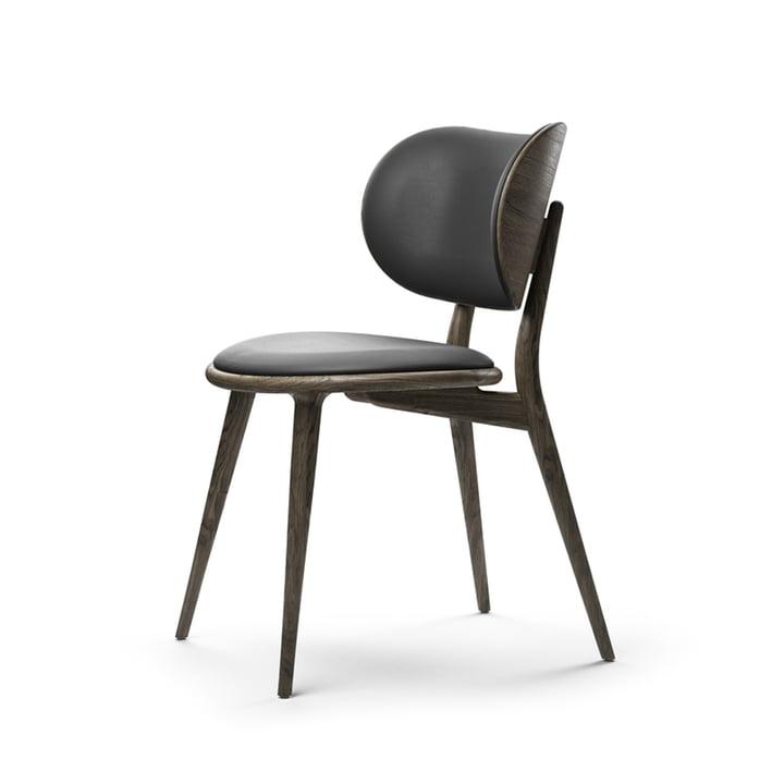 The Dining Chair, Eiche grau gebeizt / schwarz von Mater