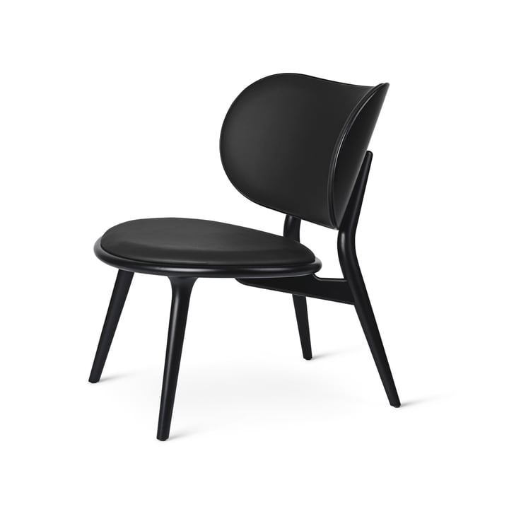 The Lounge Chair, schwarz von Mater