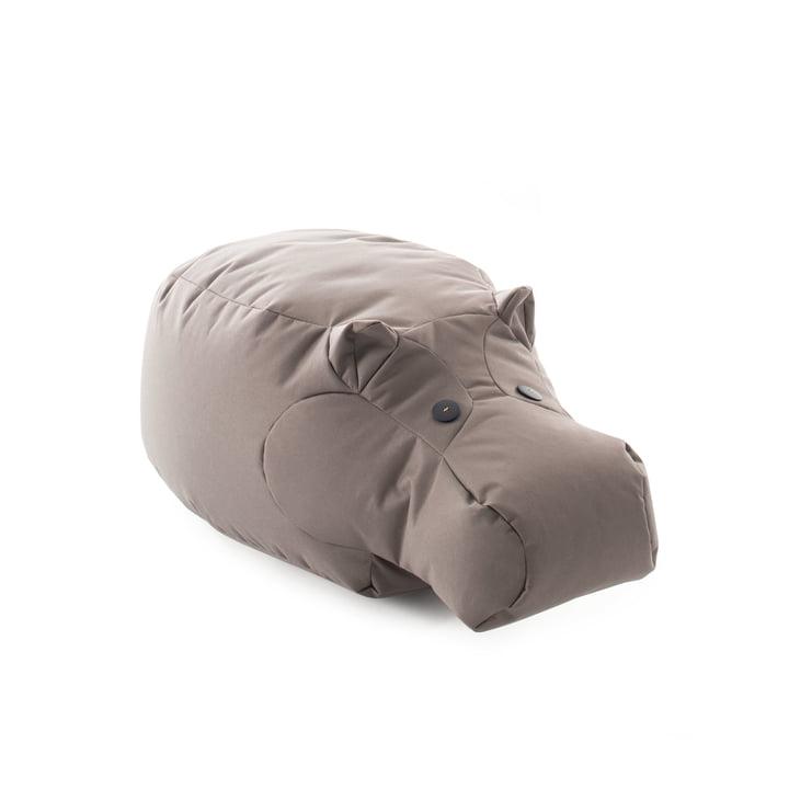 Das Happy Zoo Spieltier Hippo von Sitting Bull, graubraun