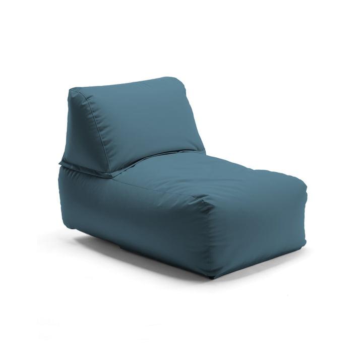 Der Zipp Sessel von Sitting Bull, steelblue