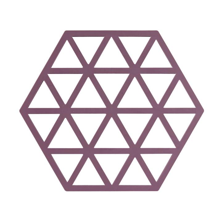 Der Triangle Untersetzer von Zone Denmark, 16 x 16 cm, beetroot