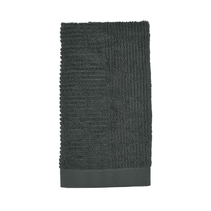 Das Classic Handtuch von Zone Denmark, 50 x 100 cm, pine green