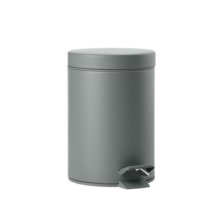 Der Solo Pedaleimer 3 L von Zone Denmark, grau