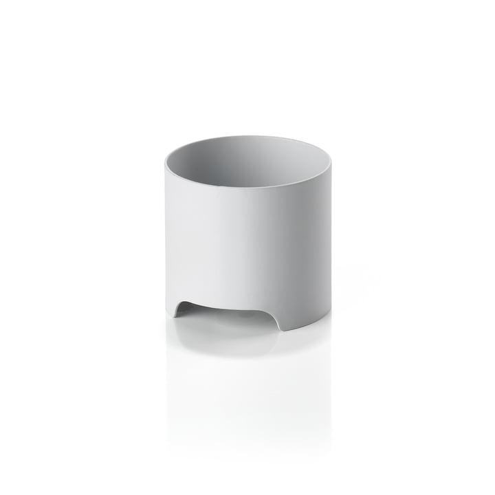 Der Singles Metall-Kerzenhalter von Zone Denmark, Ø 6 cm, warm grey
