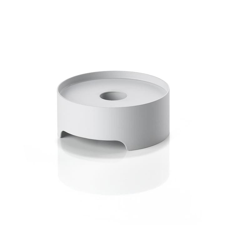 Der Singles Metall-Kerzenhalter von Zone Denmark, Ø 9 cm, warm grey