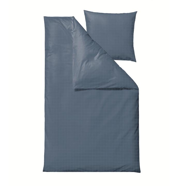 Die Clear Damask Bettwäsche von Södahl, 135 x 200 cm, china blue