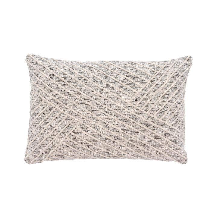 Das Diagonal Kissen von Södahl, 40 x 60 cm, offwhite