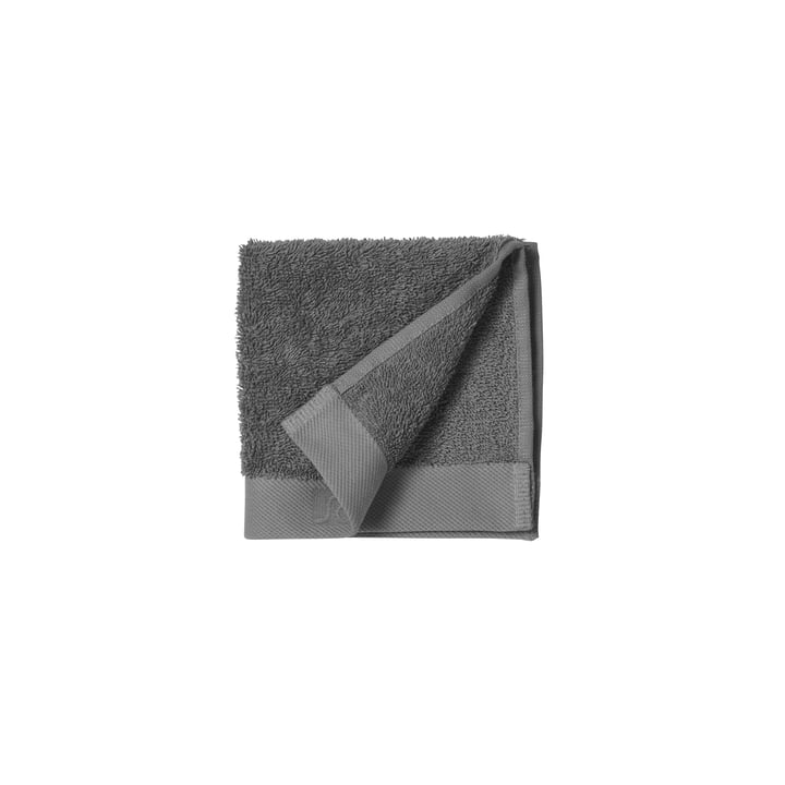 Das Comfort Gesichtstuch von Södahl, 30 x 30 cm, grau