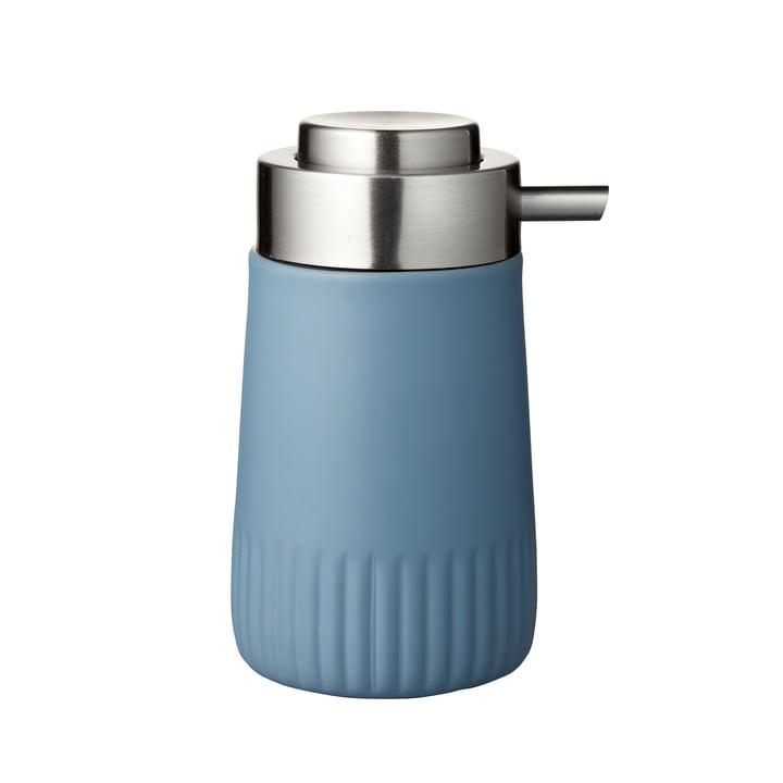 Der Plissé Seifenspender von Södahl, china blue