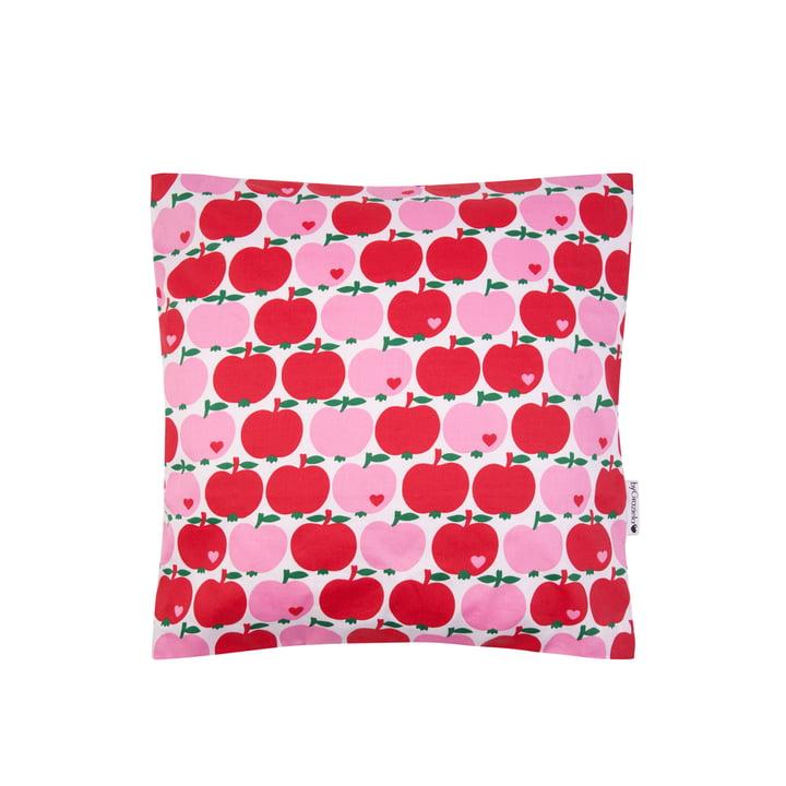 Der Kissenbezug Apfel von byGraziela, 40 x 40 cm, rot