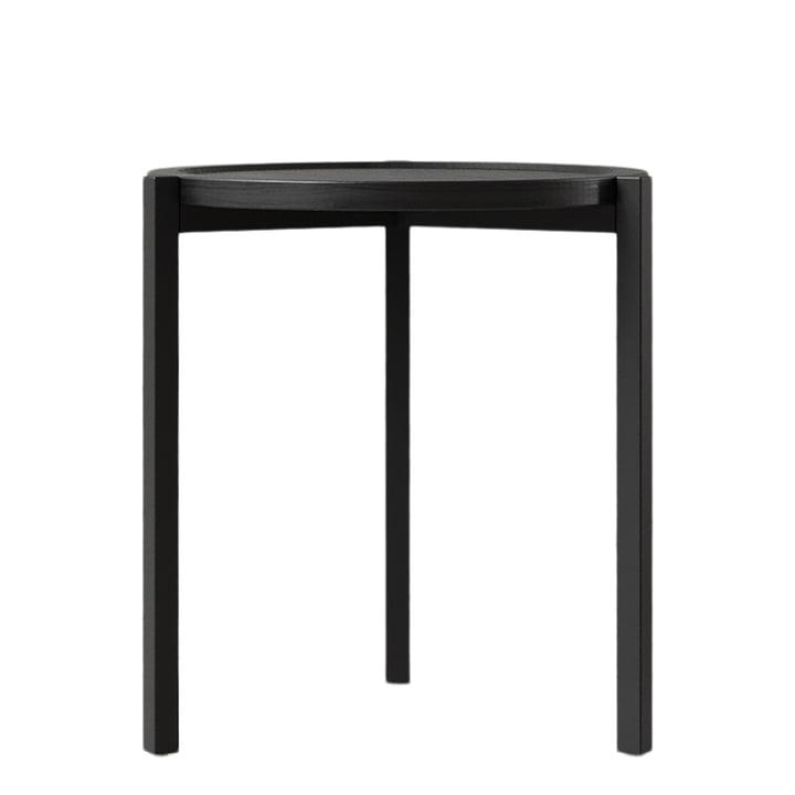Der Beistelltisch von Nichba Design, Ø 45 cm, schwarz