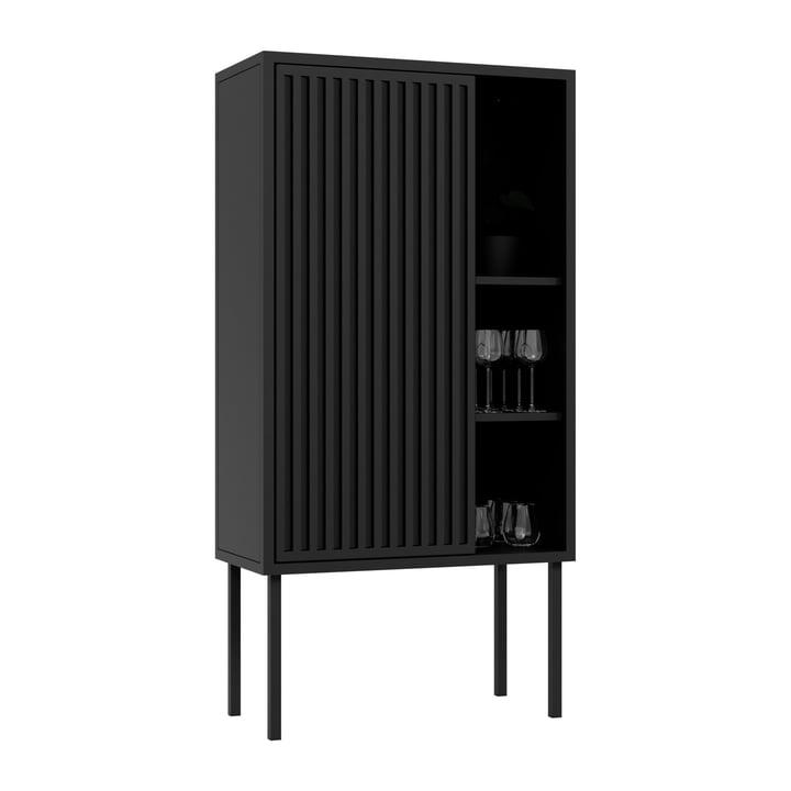 Das Cabinet von Nichba Design, schwarz