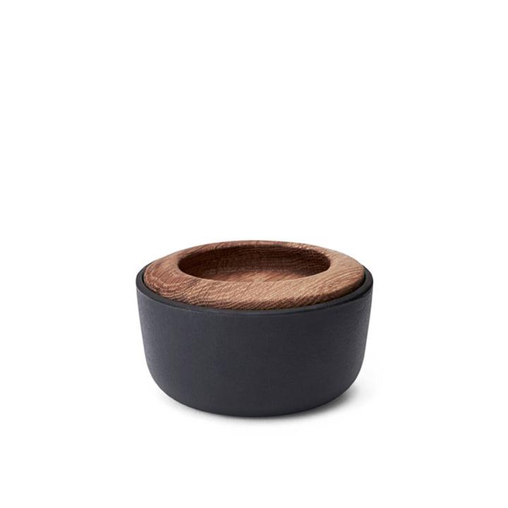 Kit Salzfass mit Deckel Ø 10 cm von Morsø in schwarz