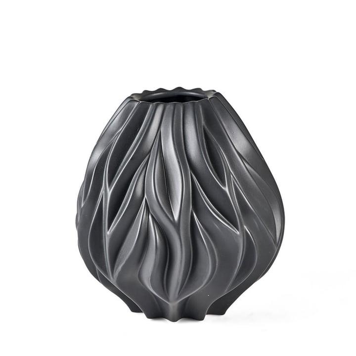 Flame Vase von Morsø H 23 cm in schwarz