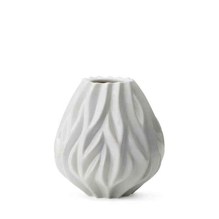 Flame Vase von Morsø H 19 cm in weiß