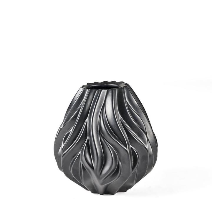 Flame Vase von Morsø H 19 cm in schwarz