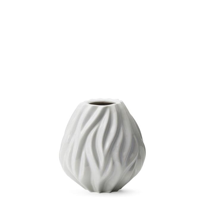Flame Vase von Morsø H 15 cm in weiß