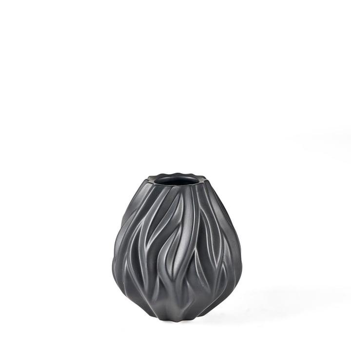 Flame Vase von Morsø H 15 cm in schwarz