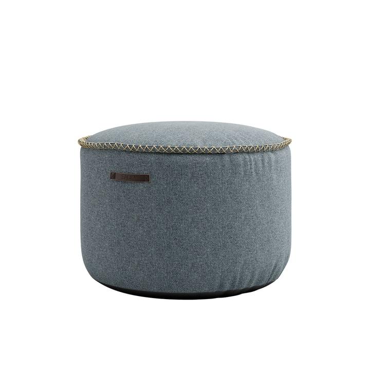 Der RETRO it Medley Drum Pouf von SACK it, dusty blue