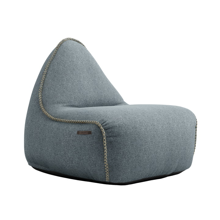 Der RETRO it Medley Sitzsack von SACK it, dusty blue
