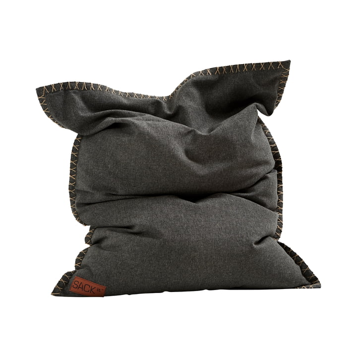 Der SQUARE it Junior Cobana Outdoor Sitzsack von SACK it, grau