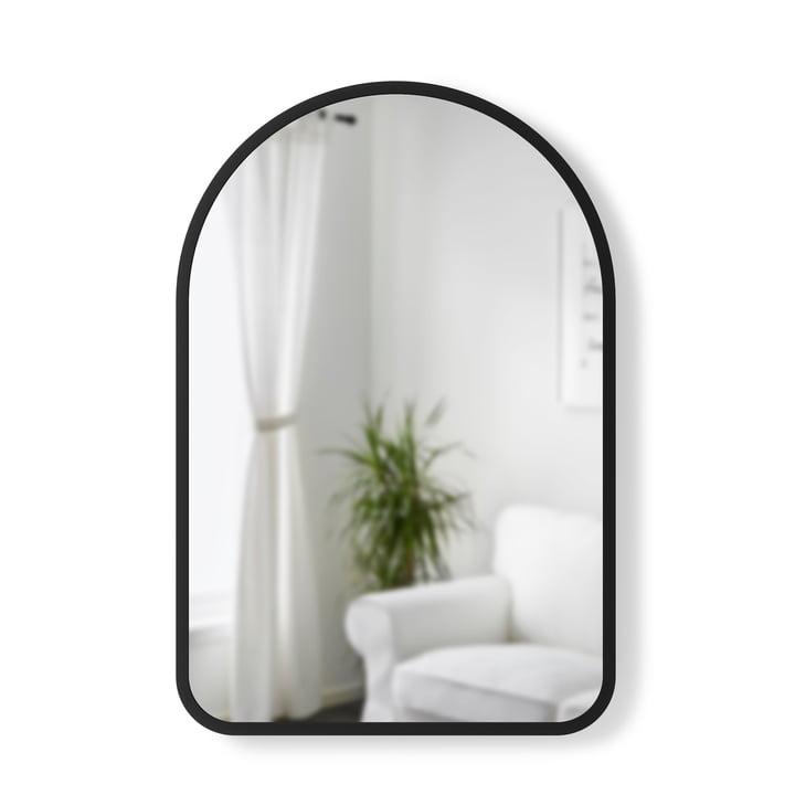 Hubba Arched Wandspiegel 91 x 61 cm von Umbra in schwarz