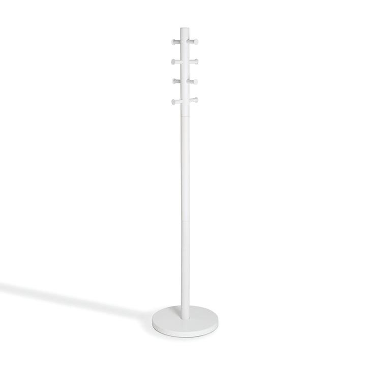 Pillar Garderobenständer von Umbra in weiß