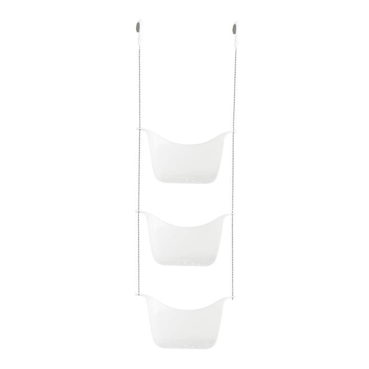 Bask Duschablage von Umbra in weiß / nickel